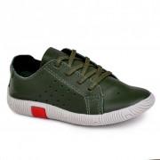 Pantofi Baieti BIBI Walk Baby New Verzi