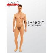 Transparent plus size strumpbyxa för män Classic 20 från Glamory teint XL