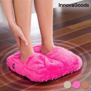 Pufosenii roz pentru masajul picioarelor