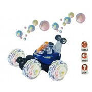 Sunshine Bubble RC Stunt Car, 360 Degree Stunts and Throw bubbles