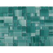 Maxwhite JSM-CH010 Mozaika skleněná zelená 29,7x29,7cm sklo