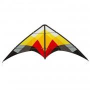 HQ Kites tweelijnsvlieger Salsa III Blaze 188 cm rood/geel