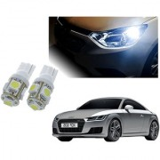 Auto Addict Car T10 5 SMD Headlight LED Bulb for Headlights Parking Light Number Plate Light Indicator Light For Audi TT