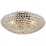 [lux.pro]® luz de techo - Lámpara de techo colgante - Cristales de Arte centelleantes (3 x E14) - cromo - Modelo: Vapora