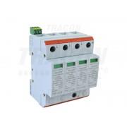 Descarcator de supratensiuni,AC,cl.2,elem.modular inlocuibil TTV2-40-4P 230/400 V, 50 Hz, 20/40 kA (8/20 us), 4P