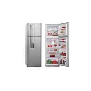Refrigerador Electrolux Duplex Frost Free Inox 380L Inox DW42X