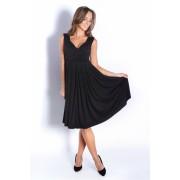 Dámské černé šaty 8223
