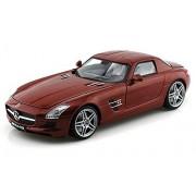Mercedes-Benz SLS AMG, Chocolate - Motormax 79162 - 1/18 scale Diecast Model Toy Car