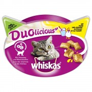 Whiskas Duolicious snacks para gatos - Pollo y yogur (66 g)