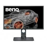 BenQ PD3200U LCD-monitor 81.3 cm (32 inch) Energielabel B (A+ - F) 3840 x 2160 pix UHD 2160p (4K) 4 ms DisplayPort, HDMI, USB 3.0, Hoofdtelefoon (3.5 mm