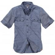 Carhartt Fort Solid Short Sleeve Shirt Blue M