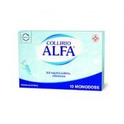Bracco Spa Div.Farmaceutica Collirio Alfa 10 Monodose Da 0,3ml
