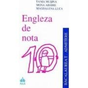Engleza de nota 10 Bacalaureat Admitere - Tania Musina