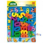 Mágneses számok és műveleti jelek Lena