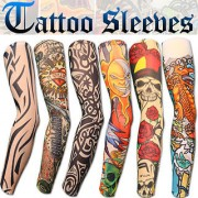 Set of 2 Tattoo Arm Sleeves for Sun Protection