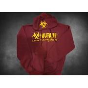 Mutant Hoodie Burgundi New