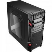 Gabinete Gamer MID Tower GT Advance 3.0 Window Preto Aerocool