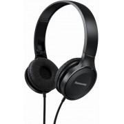 Casti Stereo Panasonic RP-HF100ME-K, Microfon (Negru)