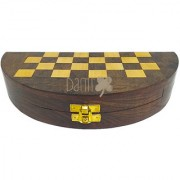 Danii Wooden Family Board Game - Chess (Size 10x10 inch.)