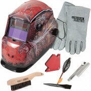Lincoln Electric Auto-Darkening Welding Helmet Kit - Grunge, Model KH961