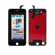 display lcd touch screen nero apple iphone 6 plus a1522 a1524 + kit smontaggio 12 in 1 + biadesivo