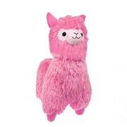 "TOLLION TOLLION Cuddly Soft Pink Alpaca Llama Lamb Toy -7"" Stuffed Animal Cushion h Doll Valentine Gift New Baby Gift Graduate Gift Lovers Anniversary Fiesta Gift for Girlfriend Children and Friends"
