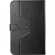 "Tablet Case, Prestigio, Universal for 8"", Leather, Black (PTCL0208BK)"