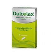 SANOFI SpA Dulcol, Adulti 10 Mg Supposte 6 Supposte