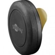 Goobay Supporto Magnetico Autoadesivo per Smartphone e Tablet Nero