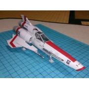 Battlestar Galactica Vipers 2 hao Viper Mk2 Paper Model DIY Handmade Fancy Toy Garage Kit Paper Handicraft Decoration