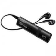 Mp3 плейър Sony NWZ-B183F 4GB memory, Quick-Charge, FM tuner, Drag&Drop files, Черен, NWZB183FB.CEW