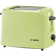 Toster TAT3A016 Bosch Haushalt s ugrađenim nastavkom za pecivo svijetlozelena (prozirna)
