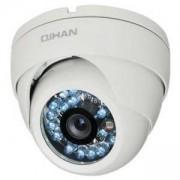 AHD куполна камера, вандалоустойчива, 1/2.7 HD CMOS, 2.0MP, 1080P, 3.6mm, IR-20 - QIHAN QH-4126OC-N
