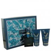 Versace Eros Gift Set By Versace 1.7 oz Eau De Toilette Spray + 1.7 Shower Gel + 1.7 oz After Shave Balm