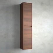 Salgar Colonna bagno sospesa in legno marrone Acacia Noja