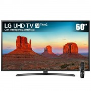 LG Pantalla LED LG 60 Pulgadas UHD Smart 60UK6250 + Magic Control Remote