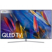 "Samsung Qe55q7f 55"" 4k Ultra Hd Smart Tv Wi-Fi Nero, Argento Led Tv (QE55Q7FAMTXZT)"
