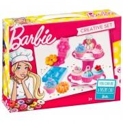 Barbie set cofetarie Mega Creative, 24 piese, 3 ani+