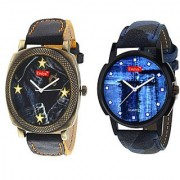 New Evelyn wrist watch for men combo -EVE-406-409