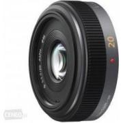 Obiectiv Foto Panasonic H-H020E Lumix G Pancake 20mm f/1.7 Asp