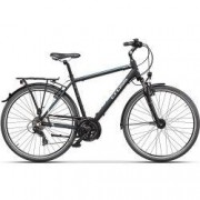 Bicicleta CROSS Areal Man Trekking 28 negru/gri/albastru 48 cm