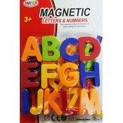 Smart Buy Magnetic Alphabets Numbers Capital and Small Letter High Quality New Design (Capital Letters : Size Small)