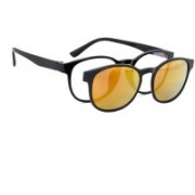 Royal Son Round Sunglasses(Clear)