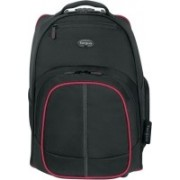 Targus Compact Rolling Backpack for 16 inch Laptop(Black & Red)