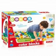 Cuburi colorate de construit Dolu, 85 piese