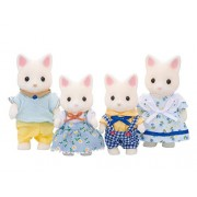 "Epoch Sylvanian Families Sylvanian Family Doll "" Family Of Silk Cat Fs 12 """