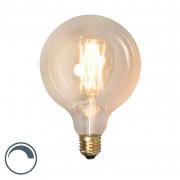 Calex Żarówka LED E27 G125 goldline 4W 320lm 2100 K ściemnialna