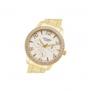 Reloj Citizen Ed812259a Swarovski -Dorado