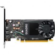 Placa video PNY NVIDIA Quadro P400 DVI, 2GB, GDDR5, 64 bit, DVI adapter
