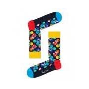 Happy Socks-Sokken-Rolling Stones Big Licks Sock-Zwart